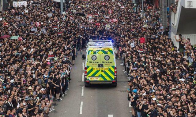 احتجاجات هونغ كونغ: تعكس مدى التحضر الفكري عند المواطنين!!