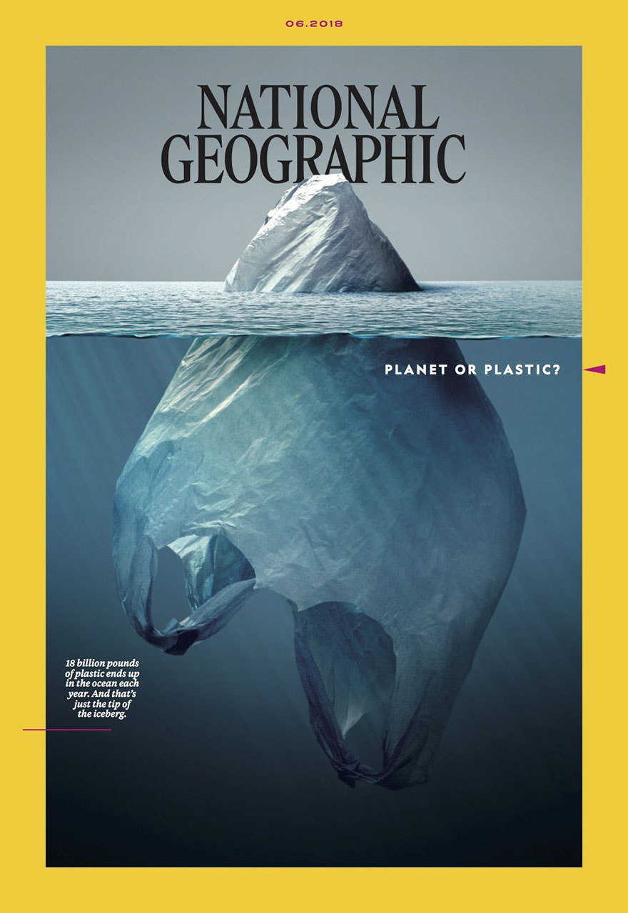 """مبادرة """"الكوكب او البلاستيك"""" من ناسيونال جيوغرافيك في محاولة لانقاذ الكوكب من الثلوث 18"""
