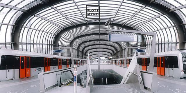 """شاهد…خط مترو """"نيو ساوث"""" الجديد في أمستردام للتنقل السريع"""