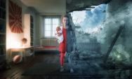 46 صورة خيالية لمبدع فوتوشوب مع ابنائه الاربعة (لا تدع متعة مشاهدتها تفوتك)!!