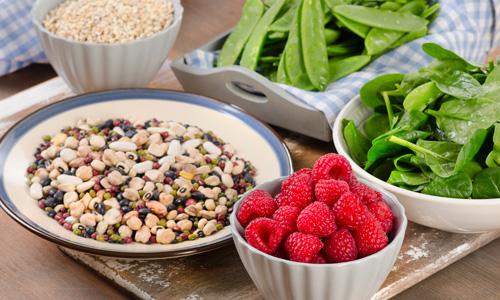 الألياف الغذائية : أساسية لنظام غذائي صحي