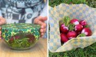 """البلاستيك العضوي: """"عبوة شمع النحل"""" تحل مشكلة الثلوث البلاستيكي"""