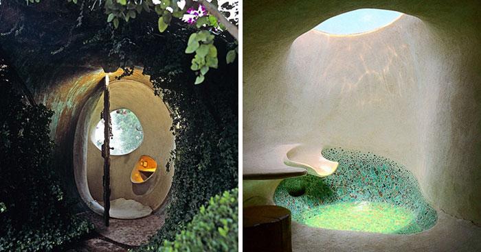 الهندسة العضوية: تصاميم رائعة لمنازل عصرية من مواد تقليدية !! 17