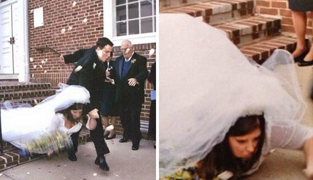 """""""جيمي فالون"""" جمع 15 صورة مضحكة لطرائف حفل الزفاف"""