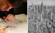 """ستيفان بليكرود :""""أرسم المدن المعروفة عالميا بدون الحاجة الى رؤيتها"""""""