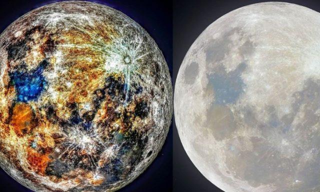 صور رهيبة للقمر بكاميرا دقيقة جدا !