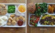 كيف تبدو وجبات الغداء المدرسية في جميع أنحاء العالم؟