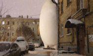 """30 صور مذهلة لمبدع الفوتوشوب الروسي """"فديم سولوفيوف"""" تبرز مخلوقات رائعة على سان بطرسبرغ!"""