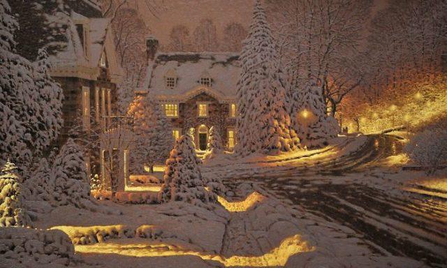 """22 صورة تبرز الشتاء في مناظر طبيعية مدهشة للفنان الكندي """"ريتشارد سافوي """""""