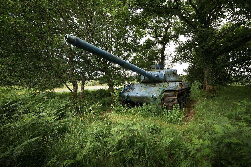 بالصور: آلات الحرب السابقة على الأراضي المنسية 3