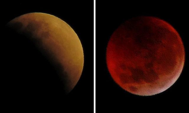 صور مدهشة للقمر و UFO بكاميرا دقيقة جدا!