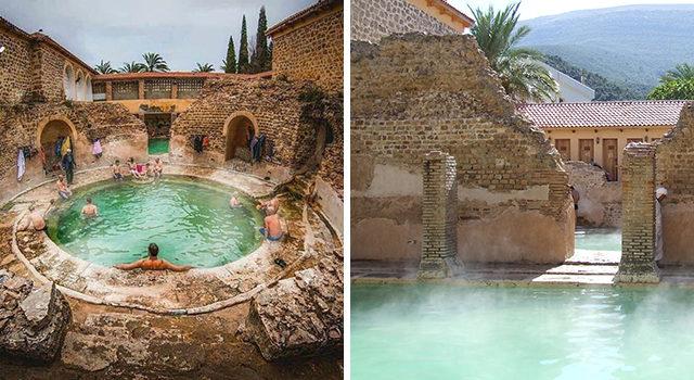 حمام الصالحين:معلم روماني ووجهة للسياحة الاستشفائية