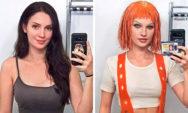 شاهد:فتاة تحوّل نفسها الى شخصيات مشهورة (20 صور جديدة)