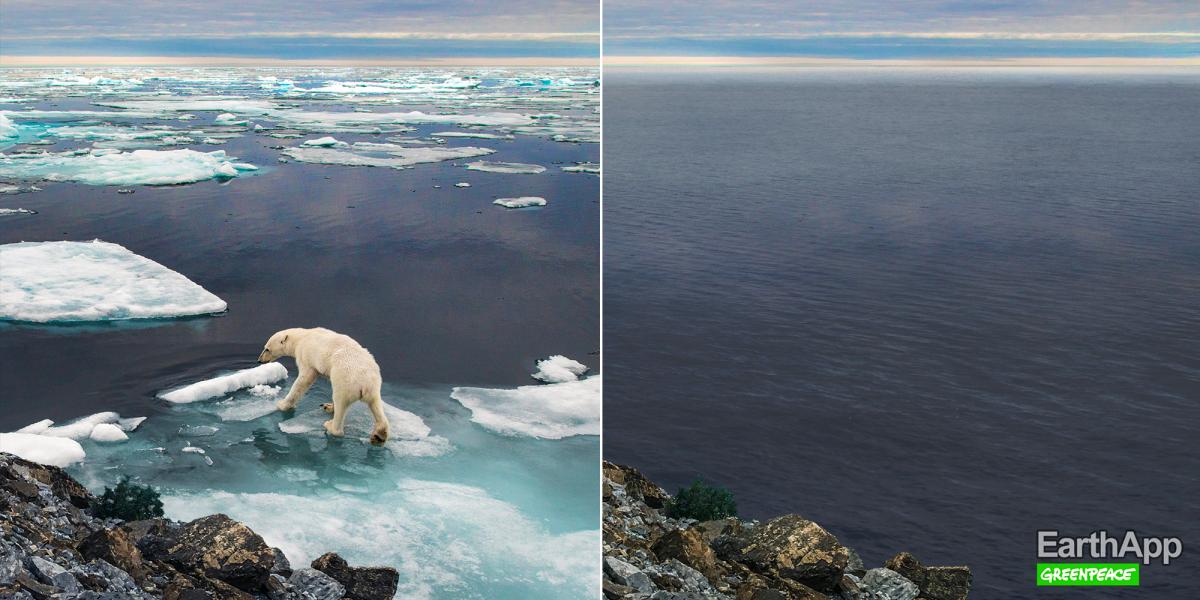 بعد تطبيق FaceApp، ظهر الان تطبيق EarthApp الدي يبين لنا تاثير تغير المناخ على الأرض 11
