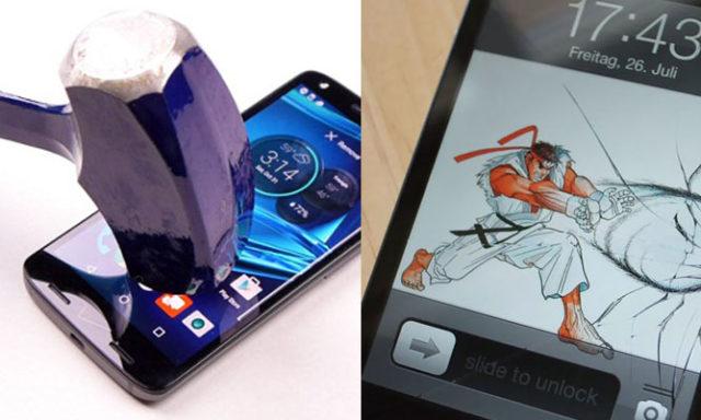22 طريقة إبداعية لإصلاح شاشات الهواتف الذكية المكسورة