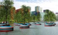 مشروع لإقامة أول غابة عائمة في هولندا