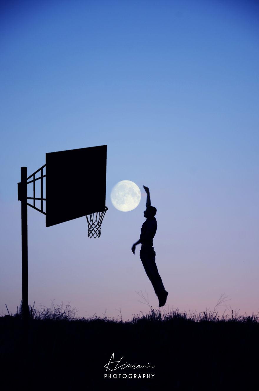"""صورة """"ظلية القمر"""" بواسطة أدريان ليماني"""