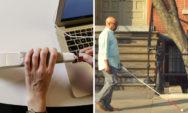"""مهندس أعمى اخترع """"عصا ذكية"""" تستخدم خرائط Google لمساعدة المكفوفين على التنقل"""