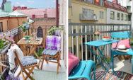 10 أفكار رائعة لتغير ديكور فناء الشرفة الخاص بك