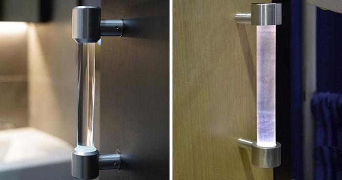 براءة اختراع: طلاب صينيون يخترعون مقبض باب يُطهر ذاتيا 21
