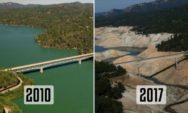 قبل وبعد: صور من ناسا تكشف مدى تغير كوكبنا في المائة عام الماضية