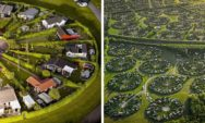 منازل غريبة كست المجتمع الدنمركي