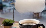 'مطر السكر' مقهى في شنغهاي يقدم فنجان القهوة مع سحابة من 'غزل البنات' لتحليته