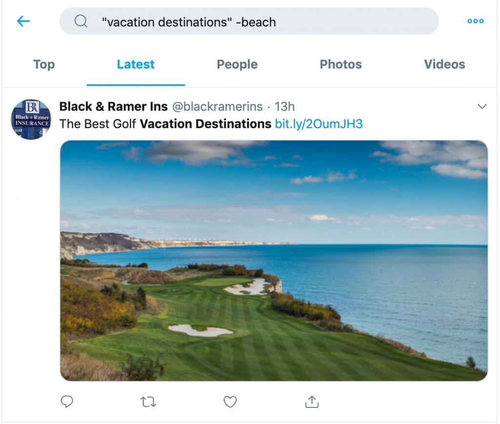 طريقة استخدام اداة تويتر بحث متقدم