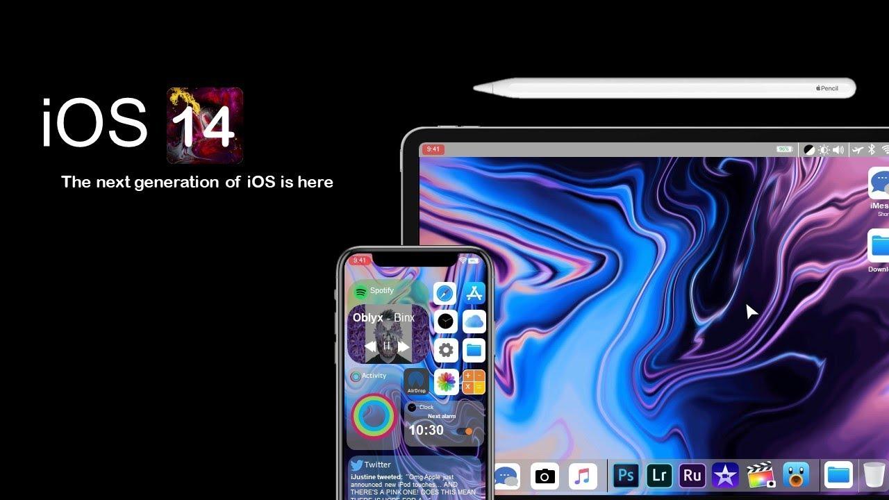 نظام التشغيل iOS 14 لاجهزة آيفون