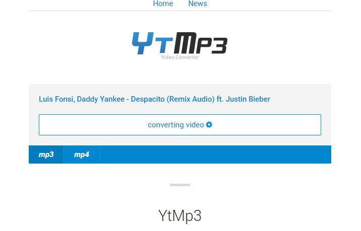 تحويل من اليوتيوب بصيغة Mp3