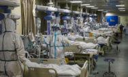 شاهد .. فيديو صادم لضحايا كورونا يصارعون الموت داخل مستشفى في إيطاليا
