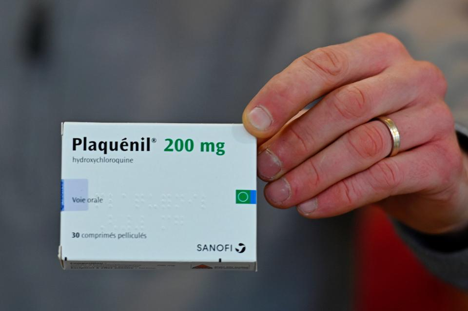 Hydroxychloroquine دواء