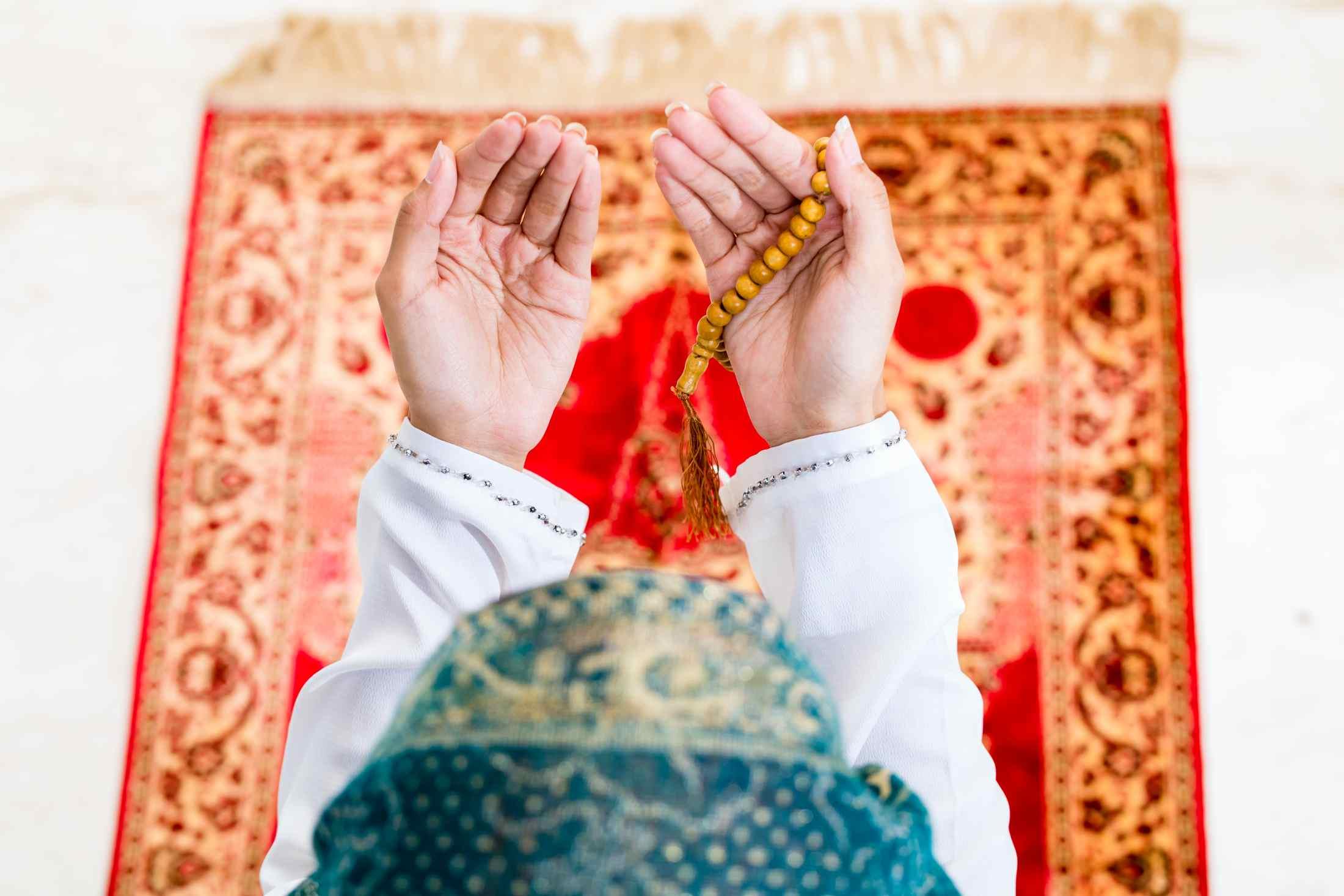 دعاء صلاة التراويح مكتوب رمضان 1441 بالبيت