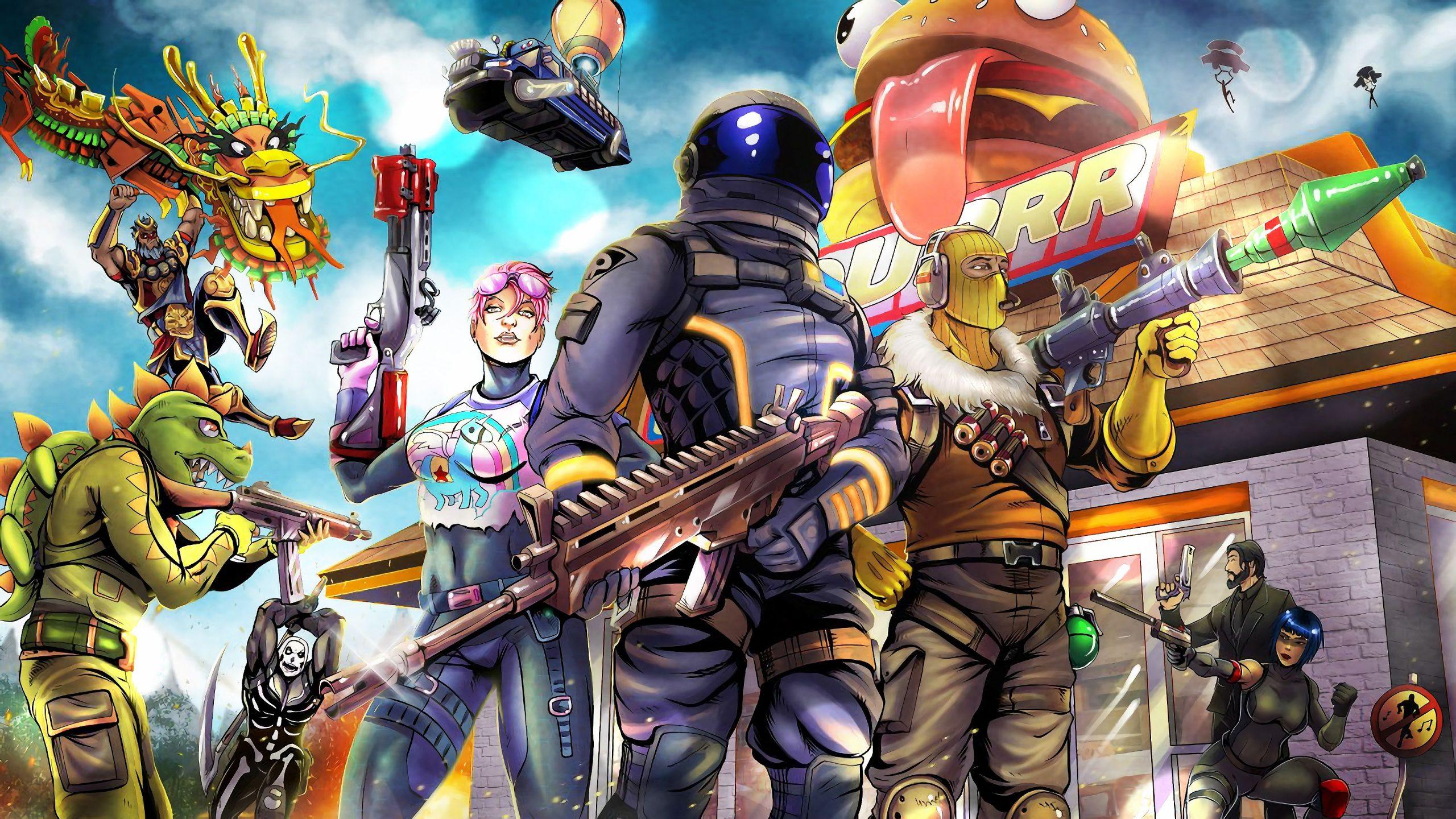 Epic Games تحميل برنامج المثبث الرسمي للعبة Fortnite