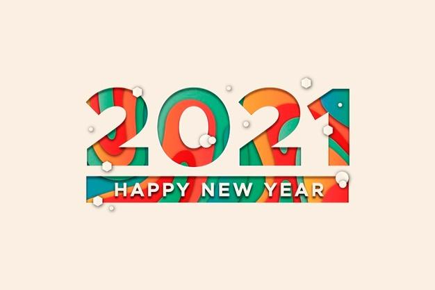 معايدات راس السنة 2021 .. رسائل تهنئة رأس السنه وأجمل خلفيات سنه سعيدة 2021