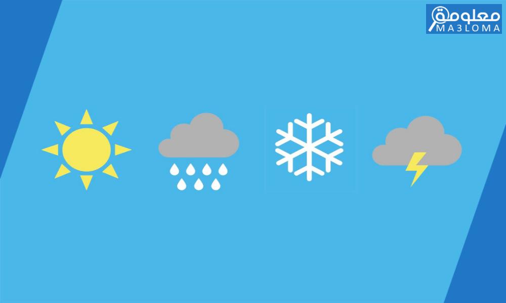 تعتبر مقاييس الحرارة من الأجهزة المستعملة في مراقبة أحوال الطقس.