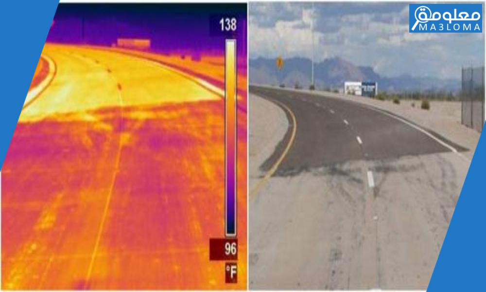 في الطقس الحار يمكن أن تتمدد أجزاء رصيف المشاة مع زيادة درجة الحرارة صح خطأ