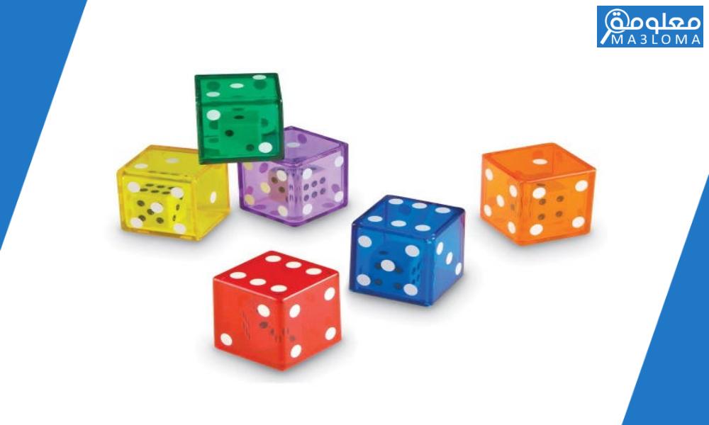 في تجربة إلقاء قطعة نقود مرة واحدة ومكعب مرة واحدة فإن عدد النواتج الممكنه هو